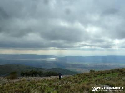 Pico Cerillón - La Morra - Montes de Toledo; senderos viajes y turismo
